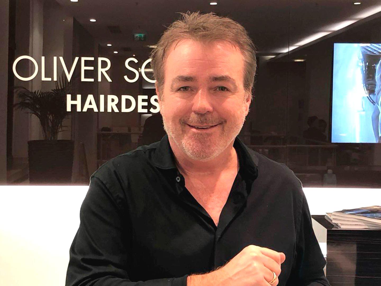 Oliver Schmidt im Salon Kö